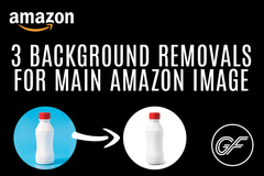 Package: 3 background removals for Main Amazon Image