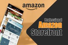 Package: I will create storefront for your amazon products