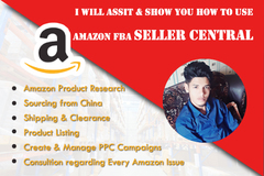 Package: I will be amazon fba coach consultant and amazon mentor