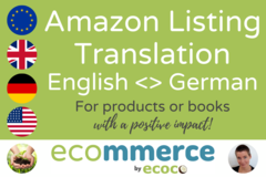 Package: English <> German SEO Translation by Native Speaker