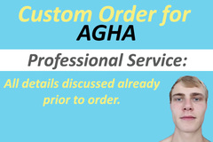 Package: Custom Order for Agha