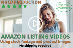 Package: Product Video (ask for free draft) W/ Stock Footage, Images