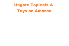Package: Ungating Toys & Topicals Categories on Amazon