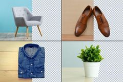 Package: 15 images Background Removal - Bulk discount