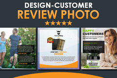 Package: Premium Amazon Customer Review Photo Design