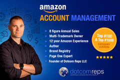 Package: Subcontracted Monthly Management of Amazon Account 1P or 3P