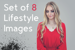 Package: Set of 8 Lifestyle Images