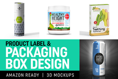 Package: Professional label Design