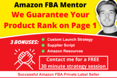 Package: PAGE ONE GUARANTEE: One-On-One Amazon Mentoring Step By Step