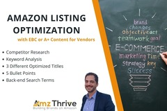 Package: Amazon Listing Optimization - EBC or A+ Content
