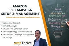 Package: Amazon PPC Campaign Management for 30 Days