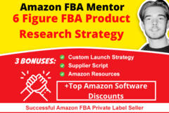 Package: Amazon FBA Product Research Strategy 2020 Consulting Call