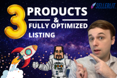Package: 3 Profitable Products Research+Fully Optimized Listing