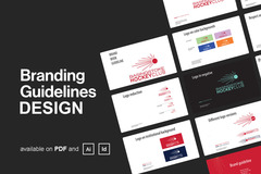 Package: I will design your branding guideline or corporate identity