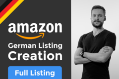Package: German Amazon Product Listing Creation - Full Text Listing