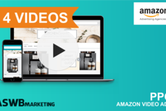 Package: Our Team Will Create 4 ASINS Amazon PPC Video Adverts