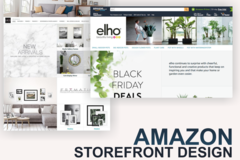 Package: Amazon storefront design - Highlight your brand on Amazon