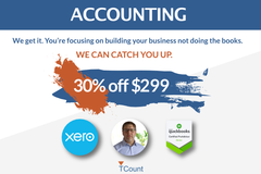 Package: Accounting Catchup - 30% Off $299