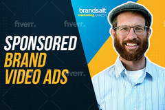 Package: !NEW PACKAGE! Sponsored Brand Video Ads