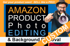 Package: Custom Order Photoshop Editing