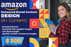 Package: Premium Amazon A+ Section Design - High Quality EBC Banners