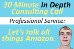 Package: PRO In Depth Consulting Call - 30 Minutes