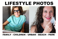 Package: 5 Beach/Urban Lifestyle Photos with infographic that sells