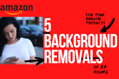Package: 5 BACKGROUND REMOVALS & more