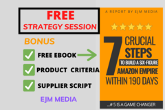 Package: FREE MENTOR, COACHING SESSION + EBOOK and BONUSES