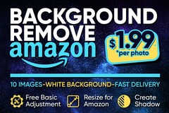 Package: ✌ 10 IMAGES Background Removal + Free Adjustment