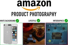 Package: 7 Amazon Images: 5WB, 1 lifestyle, 1 infographic