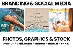 Package: CUSTOM Branding and Social Media images