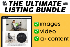 Package: Ultimate Listing Content Bundle (images, video & A+ content)