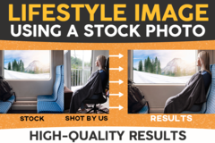 Package: Creating a Lifestyle Image Using Stock Photo