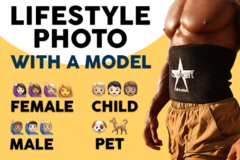 Package: Amazon Lifestyle Photo With A Model