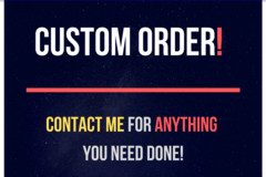Package: Custom Order - Bryce