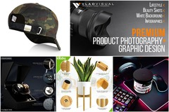 Package: Premium Product Photography-White BG-Lifestyle-Infographics