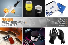 Package: Premium Product Photography-Lifestyle-Infographics-9 Images