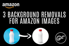 Package: 3 Background Removals for Amazon Images