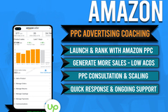 Package: SALE 1-1 Coaching - Amazon PPC Advertising - 3 SLOTS Vacant