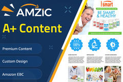 Package: Premium AMAZON EBC & A+ CONTENT DESIGN⭐SALE⭐