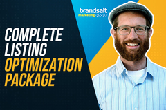 Package: Listing Optimization with Front/Back End + Brand Analytics