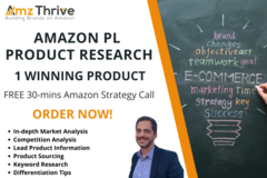 Package: 1 Winning Product - Amazon Private Label Product Research