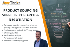 Package: Amazon PL Product Sourcing - Supplier Research & Negotiation