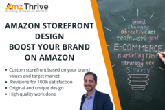 Package: Amazon Storefront Design - Boost your Brand on Amazon