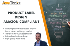 Package: Appealing Product Label Design - Amazon Compliant
