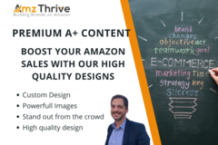 Package: Premium A+ Content that will Boost your Amazon Sales