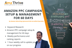 Package: Amazon PPC Campaign Creation & Management for 60 Days
