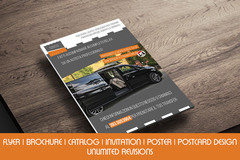 Package: Flyer advertising graphic design
