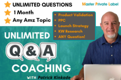 Package: On-Demand Q&A Coaching - Video Answers 24/7 for 1 Month